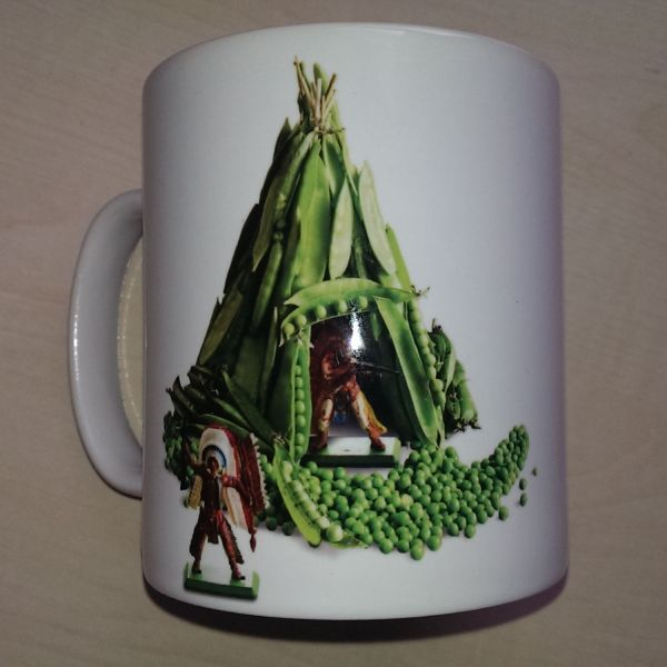 Foodshoots Tee Pea - Unique Design Kitchen Mug