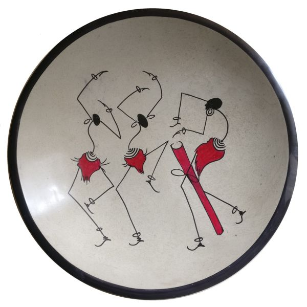 Kisii 30cm Bowl Tribal