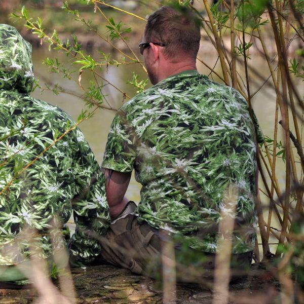 Canouflage Hemp Field T-Shirt - Unisex