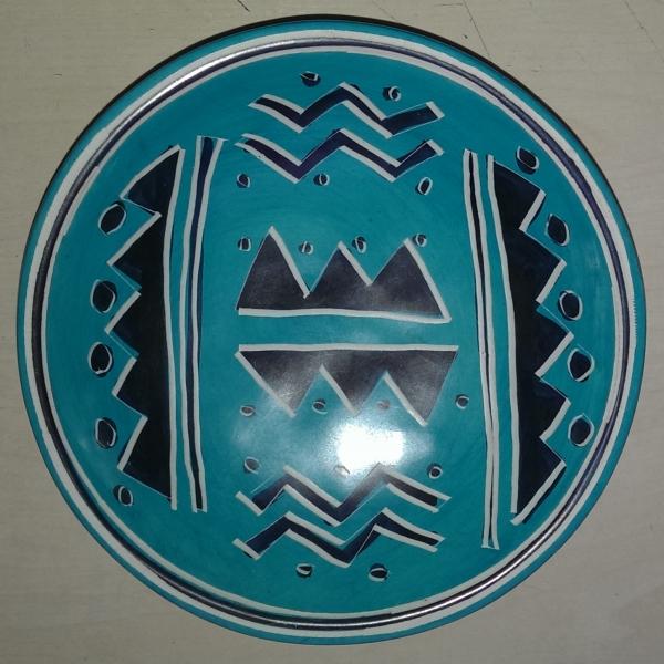 Handmade African Kisii Soapstone 15cm Bowl - Tribal